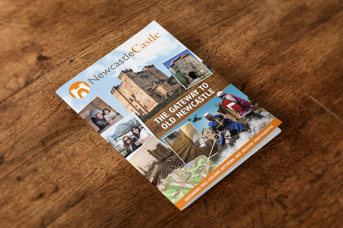 Newcastle Castle souvenir guide book design – Velcrobelly: Creative ...