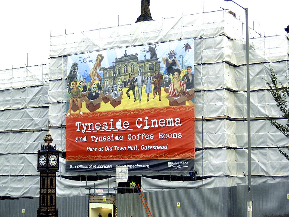 Tyneside Cinema At Gateshead Old Town Hall Branding